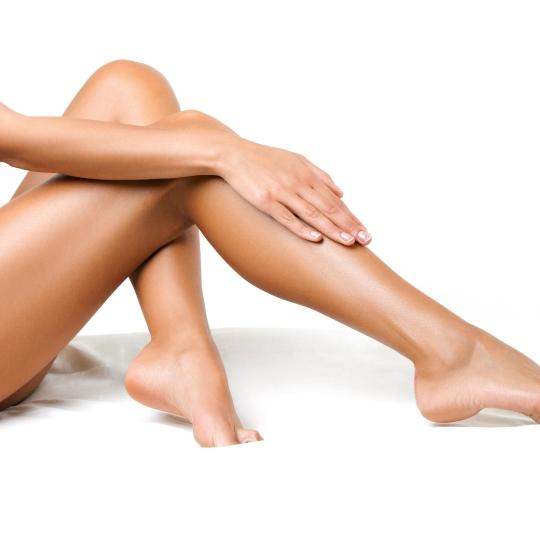 Für immer glatte Beine